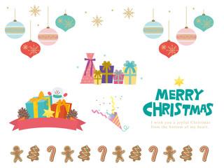 クリスマス おしゃれ デザイン イラスト