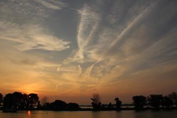 Filaments dans la ciel