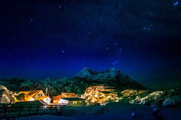 Sternenhimmel über Senja