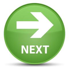 Next special soft green round button