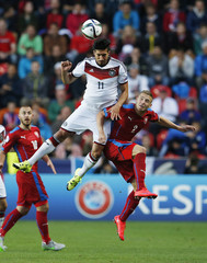 Czech Republic v Germany - UEFA European Under 21 Championship - Czech Republic 2015 - Group A