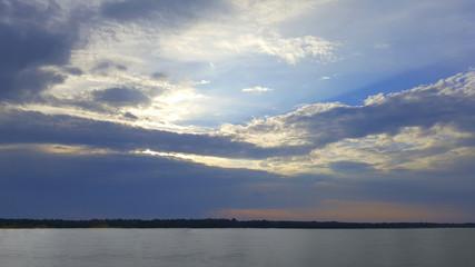 landscape texture clouds sky