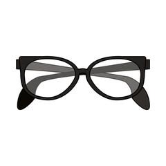 classic frame glasses icon image vector illustration design