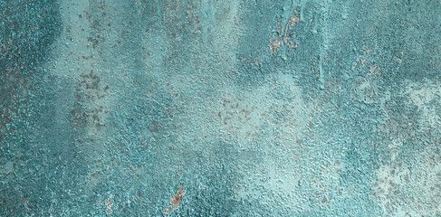 Vintage Grunge Decorative Blue Background for design