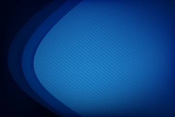 Abstract deep blue background curve and overlap layer with basic simply geometry illustration 003