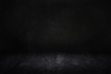 dark and black studio and room