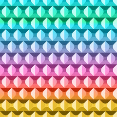 Abstract colorful geometric pattern. Vector illustration background.
