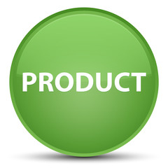 Product special soft green round button