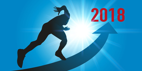 2018 - sport - objectif - challenge - entreprise - motivation - sprint