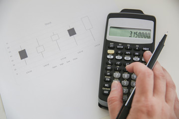 math calculator stock
