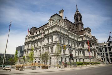 Montreal's city hall, Canada.