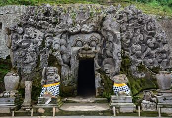 Ancient Hindu temple in Bali, Indonesia