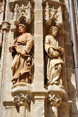 Prophets in the Campanillas Gate, Seville Cathedral, Spain