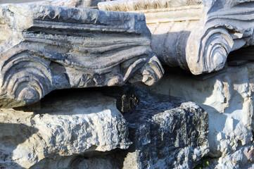 Greece, Delos island, roman ruins