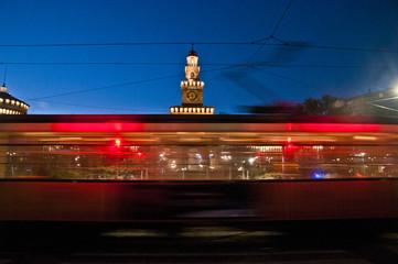 Castello Sforzesco sul tram