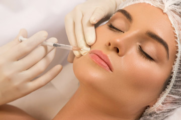 Lips augmentation procedure