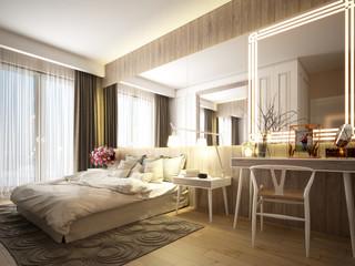 Bedroom interiors