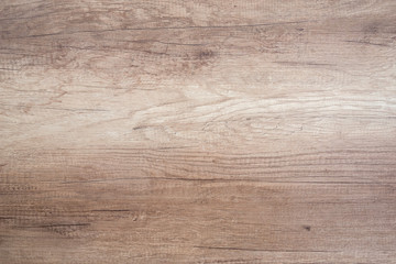wooden desk or table as background close up