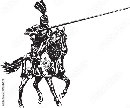 Image result for knight on a horse