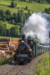 train à vapeur touristique
