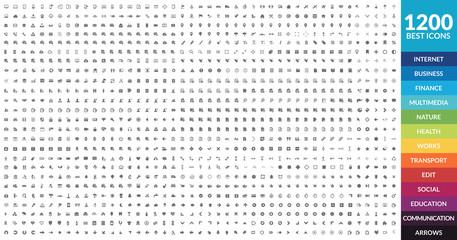 1200 Icons