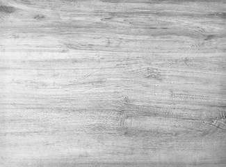 Black and white texture of blank wooden plank