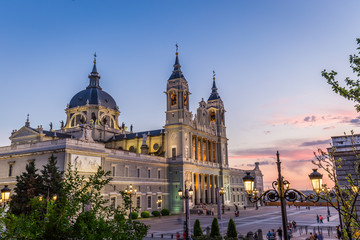 Catedral de la almudena de Madrid,Spain