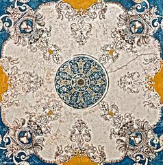 Marble mosaic texture vintage stone