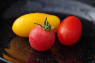 ミニトマト(3種類)