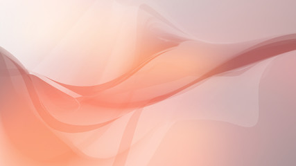 background warm orange red wave flow abstract soft light sky pastel vector