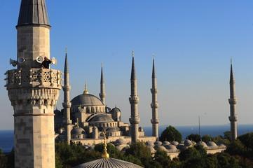 Sultanahmet Mosque,landscape,Istanbul,Turkey