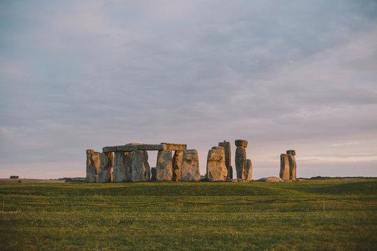 Ancient stones of Stonehenge