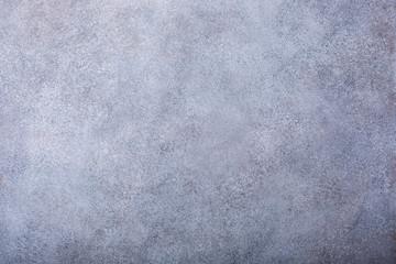 Gray concrete stone background texture. Horizontal. Copy space.