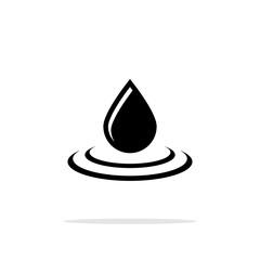 Drop icon flat.