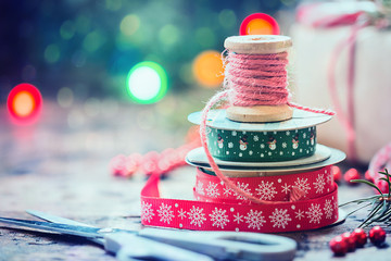 Christmas decoration for gifts