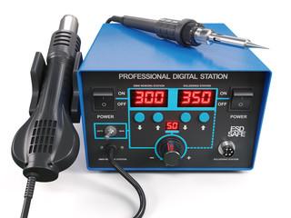 Soldering iron digital station
