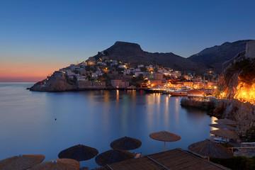 Sunrise at Hydra island