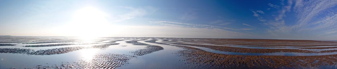 Printed kitchen splashbacks North Sea Wattenmeer