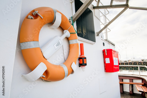 lifesaver on boat stock photo and royalty free images on fotolia