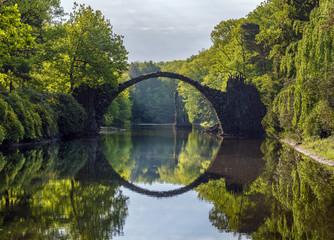 devilish bridge in Kromlau