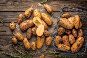 Frische Kartoffeln