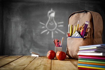 school background for your decoration