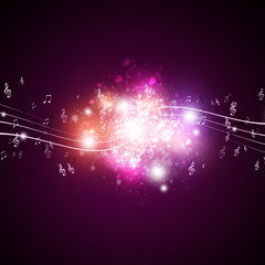Music Notes Boom