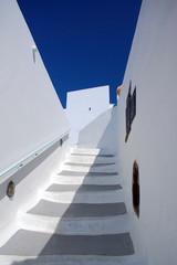 Griechenland Treffe Santorin