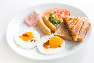 breakfast morning meal for good healthy and heart