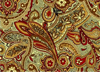 paisley ornamental pattern
