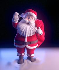 Santa Claus  waving hand