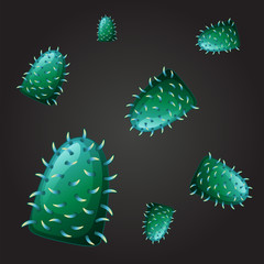 Seamless design for green virus