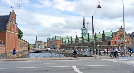 Copenhagen Stock Exchange (Borsen) building, Copenhagen, Denmark