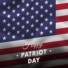 Patriot Day. September 11. Vector illustration.